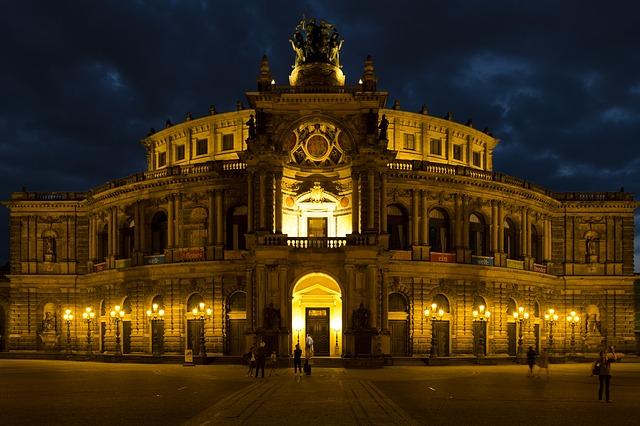 opera drážďany