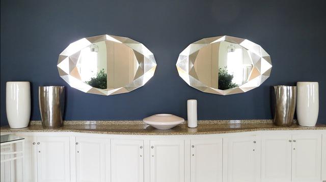 oválná zrcadla