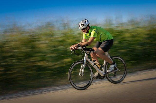 Rychlá jízda na kole